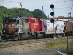 Canadian Pacific 4650 and 4654