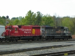 Canadian Pacific 4654 and 4650