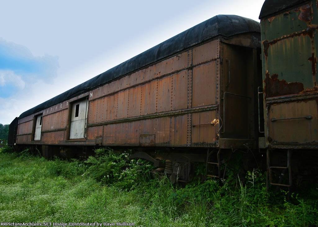 Southern baggage car
