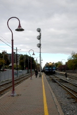 North platform, Montreal-West station
