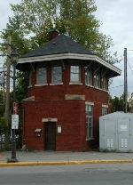 Montreal West CP signal tower