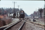 NS 2816 and train cross the CSX, former SAL main line.