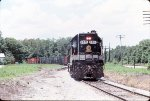 SOUTHERN 2801 waits for a signal to cross the CSX