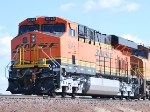 BNSF 6349 rolls east as a rear DPU unit on a loaded coal train heading to Alliance, NE for a crew change