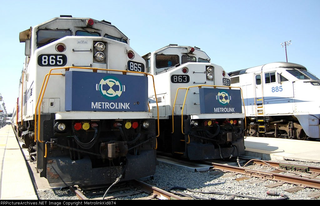 Three trains resting for the weekend