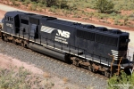 NS 6753 was part of a group of SD60I's built by Conrail/Altoona, PA from kits made by EMD Canada