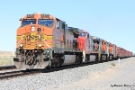 BNSF 5373 and a rare string on boxcars in these parts
