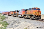 BNSF 5373 leads the charge toward Abo Canyon