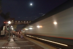 The Southwest Chief Under an October Moon