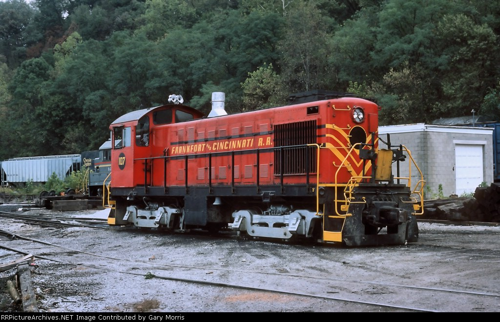 Frankfort and Cincinnati RR Alco #107