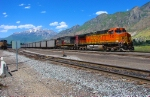 Union Pacific Skyline Mine,Utah-Barstow,CA Coal Train.June 19,2010.Provo,Utah.