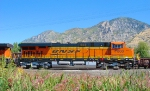 BNSF GE ES44DC NO.7800 PROVO,UTAH SEPTEMBER 5,2010.