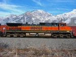 BNSF GE C44-9W NO.1035 PROVO,UTAH MARCH 6,2010.