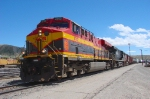 KANSAS CITY SOUTHERN ''SOUTHERN BELLE'' AT HELPER,UTAH.MAY 29,2010.