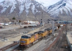 UNION PACIFIC'S DENVER-SALT LAKE CITY MANIFEST FEBRUARY 27,2010 PROVO,UTAH.