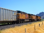 UNION PACIFIC GE C44ACCTE NO.6004 AT LEAMINGTON UTAH ON JULY 7, 2010