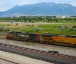 UNION PACIFIC GE AC4400CW NO.6396 (FORMER SOUTHERN PACIFIC NO.350) JULY 26,2010.OREM,UTAH.