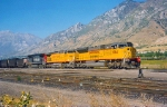 UNION PACIFIC SD9043MAC NO.8064 SEPTEMBER 28,1997.PROVO,UTAH.
