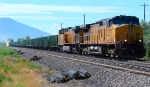 UNION PACIFIC BALLAST TRAIN. JULY 30,2010. PROVO/OREM, UTAH