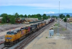 UNION PACIFIC'S SALT LAKE CITY-DENVER,CO MANIFEST PROVO,UTAH.JULY 4,2010.
