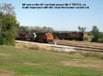 BNSF and UP at North Topeka