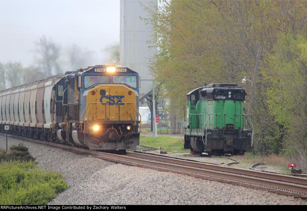 CSX 8746 8058 EX BN 6252