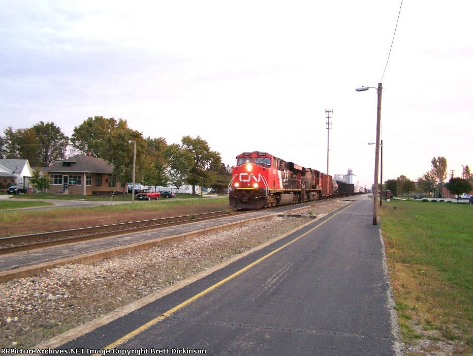 CN train M342