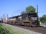 NS 8776 & BNSF 9558 On NS 25 A Eastbound