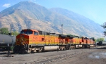 BNSF SWITCHING ACTION AT PROVO ON 10/10/2010!