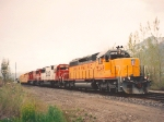 UNION PACIFIC'S HINKLE,OREGON-YERMO,CALIFORNIA MANIFEST AT PROVO MAY 13,1995.