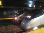 Acela & HHP8 side by Side