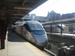 Acela Express in Boston South Station