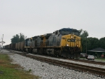Northbound CSX Coal Train