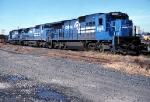 Conrail six axle GE's