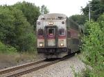 Inbound MBTA Train