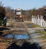 End of Track - Carborro, NC