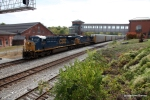 CSX 5490 leads the Q217 as it makes its way back to Michigan from Philly