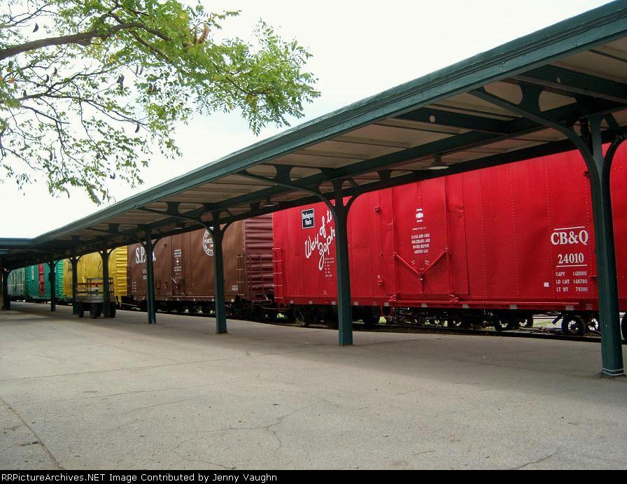 Boxcar display