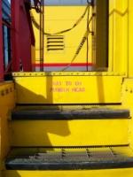 Caboose steps