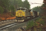 DPU on eastbound coal train