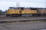 UP 8118 AT THE EUGENE YARD