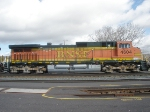BNSF 4604 DPU on the BNSF NB Merchandise