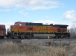 BNSF 4981 DPU for NB BNSF Freight
