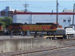 BNSF 4508 LEADS A GENERAL FREIGHT EB OUT FO VANCOUVER YARD