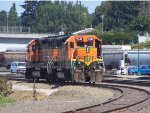BNSF 2347 & BNSF 2724 RETURNING FROM PORT SWITCHING JOB