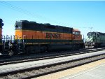 BNSF 2724 IDLING ON THE TAIL TRACK