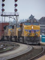 UP 7521 Leads Z SEG2 10 (Seattle WA to Global 2 IL)