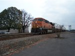 BNSF 6651, Pulling a long intermodal by it's self, BNSF must have a lot of faith in the ES44C4