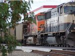 BNSF 6028 and 9582