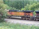 BNSF 5040 Trailing